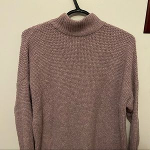 American Eagle long turtle neck sweater